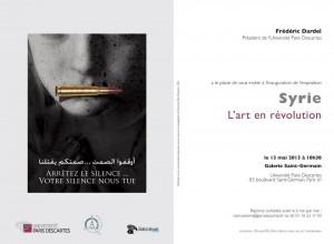 Syrie, l'art en révolution