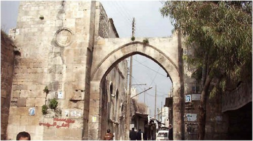Vue de la porte Bab al-Maqam. Fonds privé.